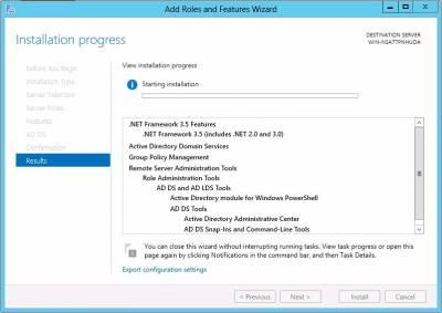 چگونه اکتیو دایرکتوری را در ویندوز سرور 2012 نصب کنیم ؟