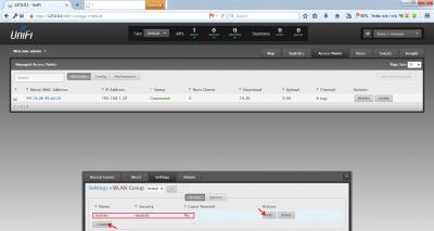 اجرای تنظیمات اولیه اکسس پوینت Unifi