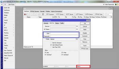 چگونه کانکشن pppoe client را در میکروتیک ایجاد کنید اتصال اینترنت مودم, کانکشن PPPOE کلاینت, کانکشن PPPOE کلاینت میکروتیک, روتربرد میکروتیک با کانکشن PPPOE کلاینت microtic, PPPOE کلاینت روتربرد میکروتیک, pppoe میکروتیک, آموزش pppoe میکروتیک, راه اندازی pppoe client در میکروتیک, راه اندازی pppoe server در میکروتیک, کانفیگ pppoe میکروتیک