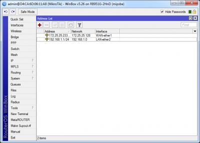 آموزش ست کردن IP آدرس برروی روتربرد Mikrotik